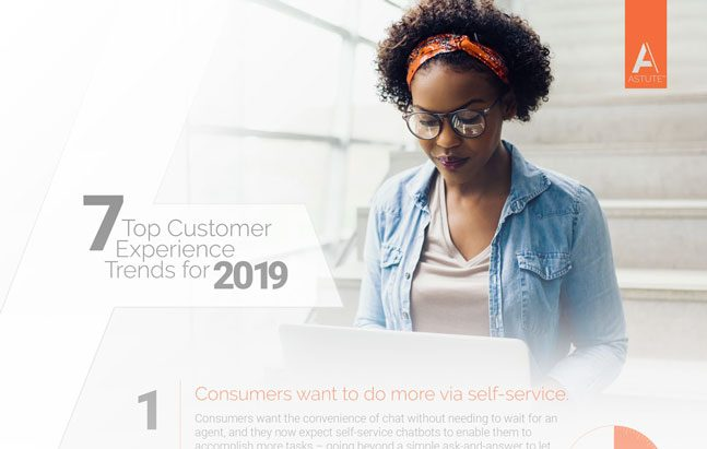 infographic top cx trends for 2019