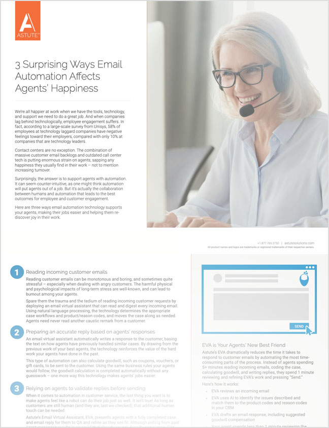 3 Surprising Ways Email Automation Affects Agents' Happiness